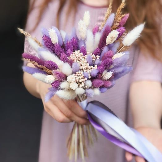 Букет из сухоцветов N 1: букеты цветов на заказ Flowwow