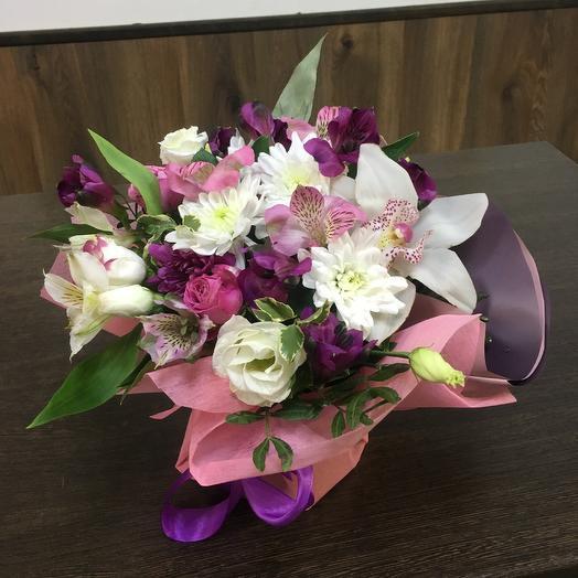 Композиция «Нежность»: букеты цветов на заказ Flowwow