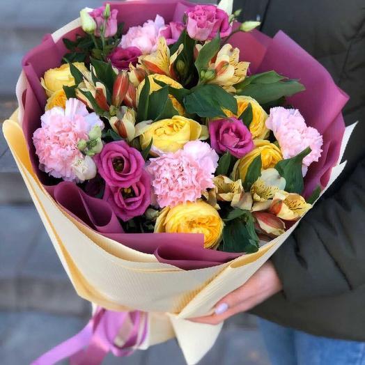 Красочный: букеты цветов на заказ Flowwow
