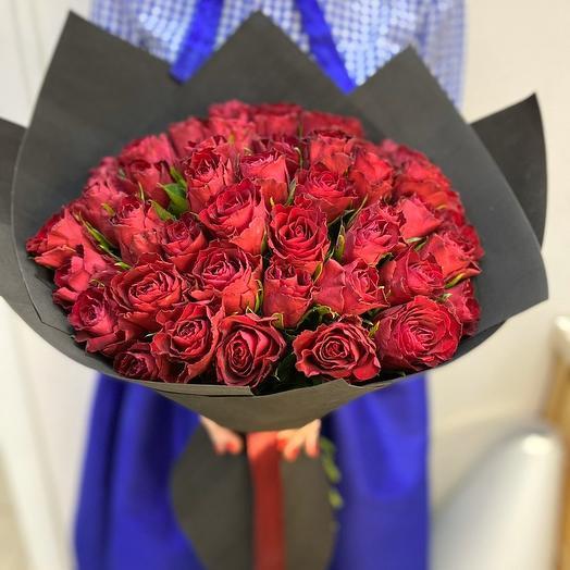 Розы для любимой😍: букеты цветов на заказ Flowwow