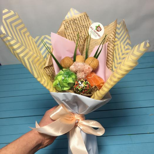 Ореховое наслаждение: букеты цветов на заказ Flowwow