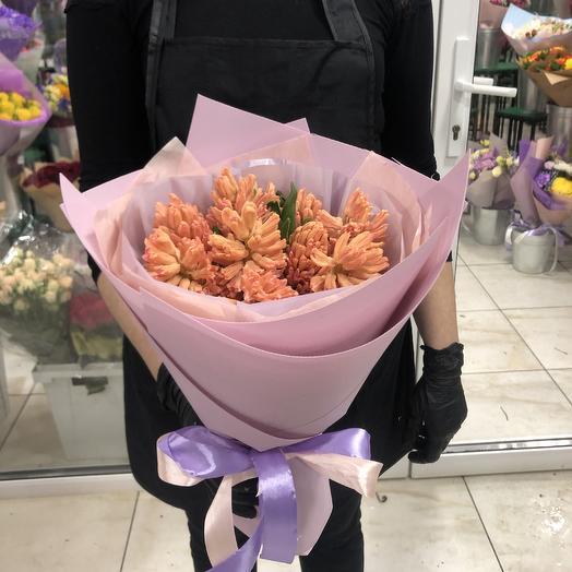 Букет Гиацинт: букеты цветов на заказ Flowwow