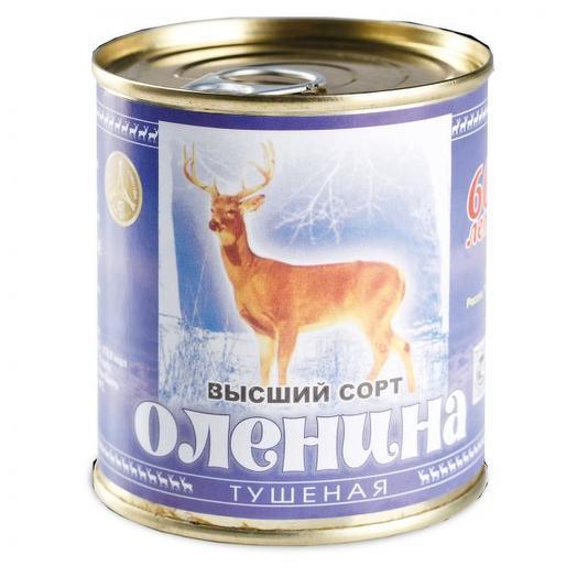 Оленина тушеная высший сорт ГОСТ, Россия