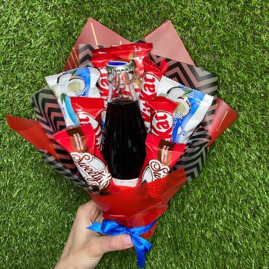 Мини букет для любителей сладкого