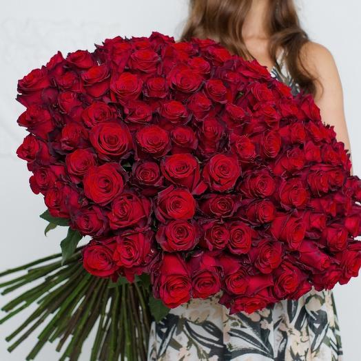 101 красная 🇪🇨 Роза
