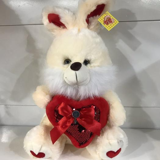 Bunny with a heart