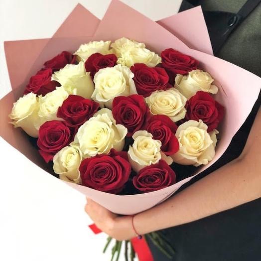 Розы микс