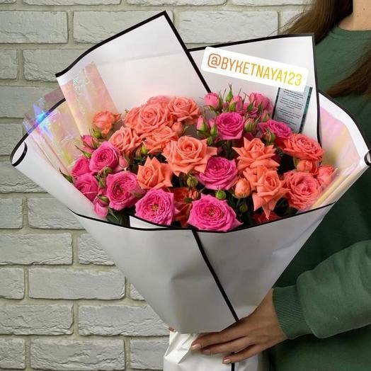 Роза куставая (микс)