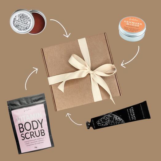 Подарочный набор: нежный уход для тела, Massage   Care
