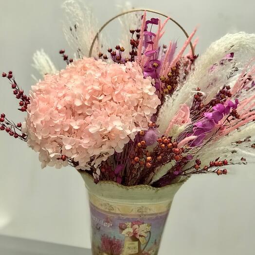 Сухоцветы со стабилизированными розами