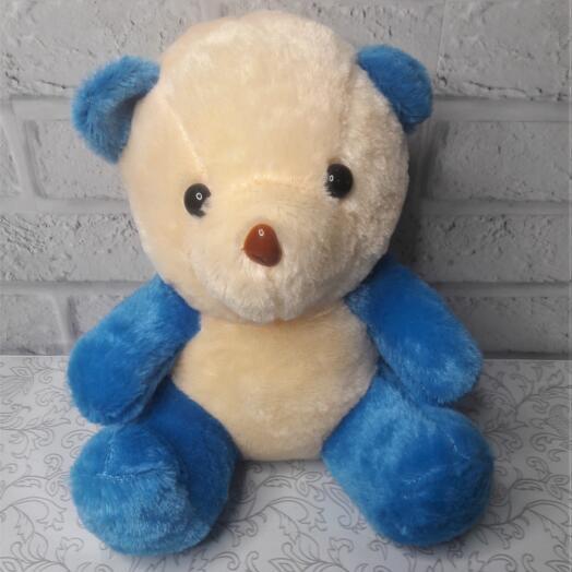 Мишка Ваня синий