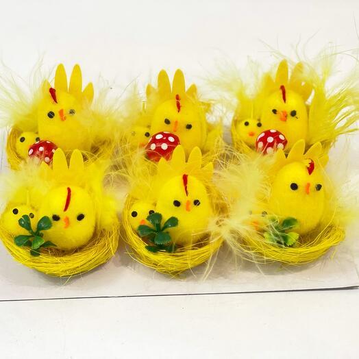 Цыплята 🐤 декор к Пасхе