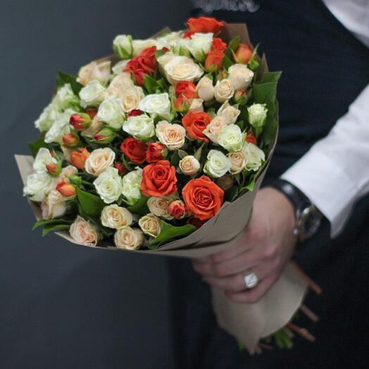 Букет цветов «Для любимой»