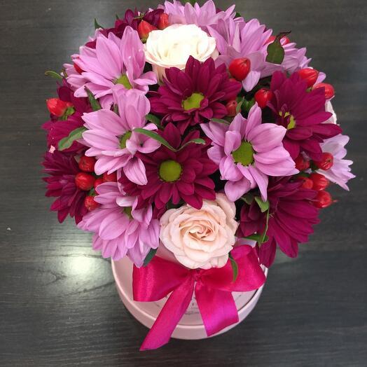 Цветы в коробке 05478
