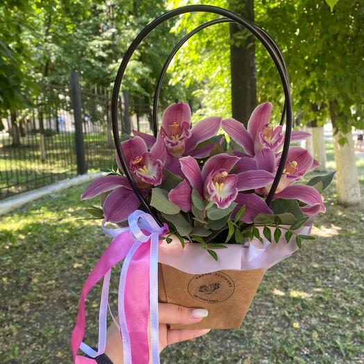 Цветы в сумочке «Кали найт»