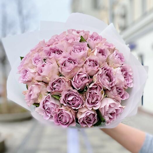 "Букет из 35 роз ""Purple Kenya"""