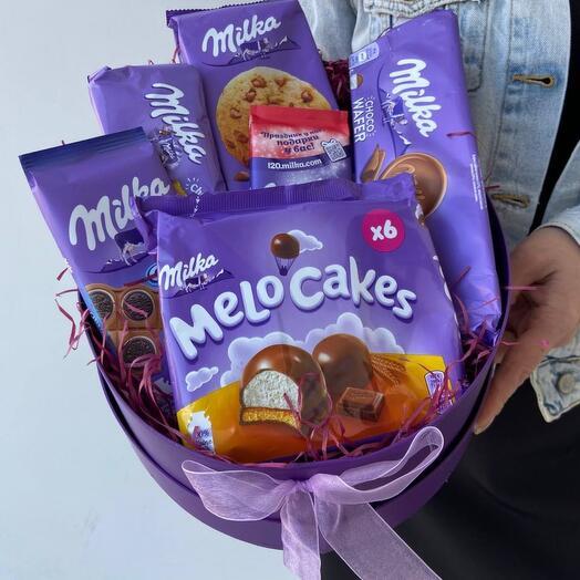 Сладкий подарок Milka