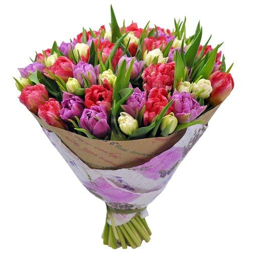 Букет Довиль: букеты цветов на заказ Flowwow