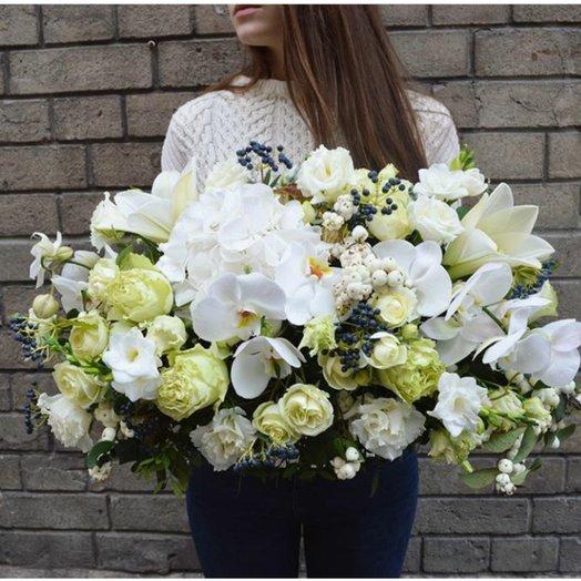 Букет с фаленопсисом: букеты цветов на заказ Flowwow
