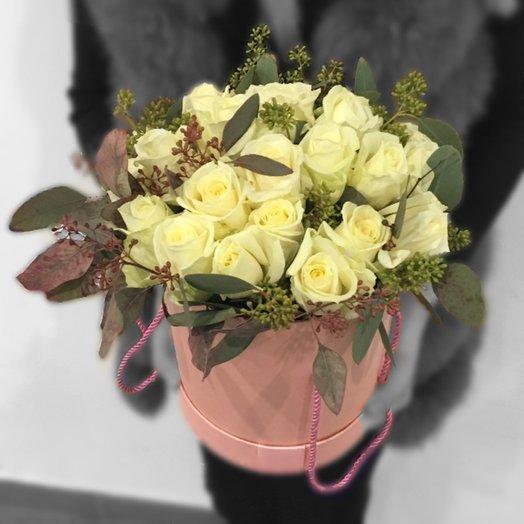 Белое золото: букеты цветов на заказ Flowwow