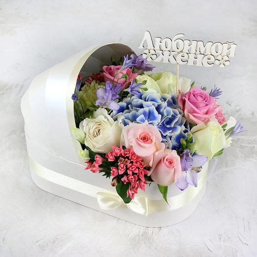 Композиция на рождение ребенка средняя: букеты цветов на заказ Flowwow