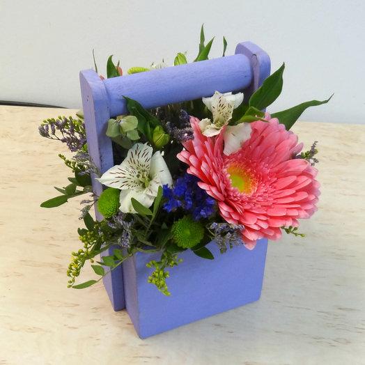 Ящик  5: букеты цветов на заказ Flowwow