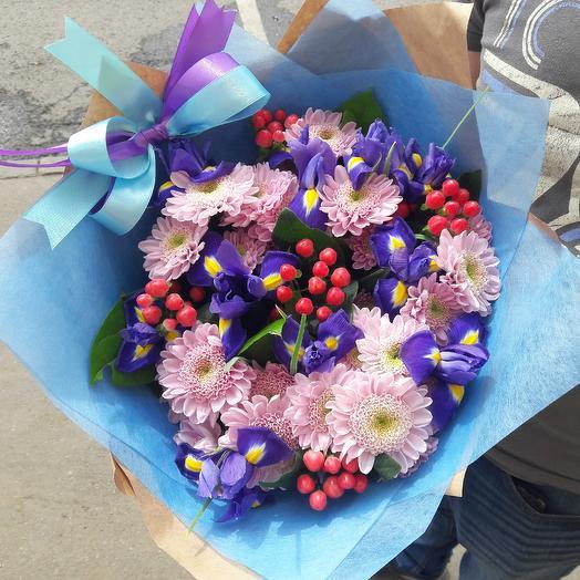 Летний букет: букеты цветов на заказ Flowwow