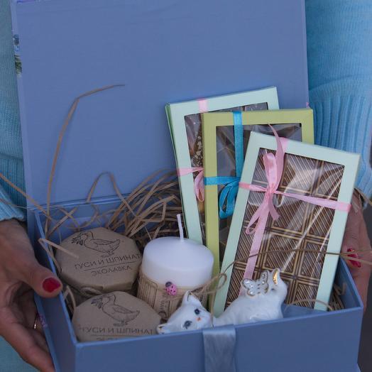 Сладкая коробка : букеты цветов на заказ Flowwow