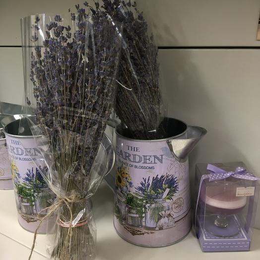 Лаванда 101 шт: букеты цветов на заказ Flowwow