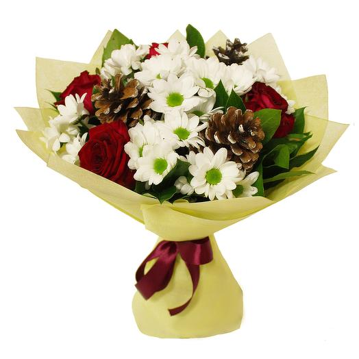 Зимний сюрприз: букеты цветов на заказ Flowwow