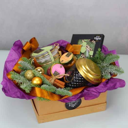 Зима в подарках: букеты цветов на заказ Flowwow