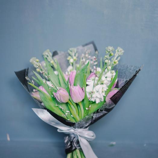 """Букет """"Весенняя свежесть"""": букеты цветов на заказ Flowwow"""