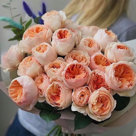 Пионовидная Джульетта: букеты цветов на заказ Flowwow