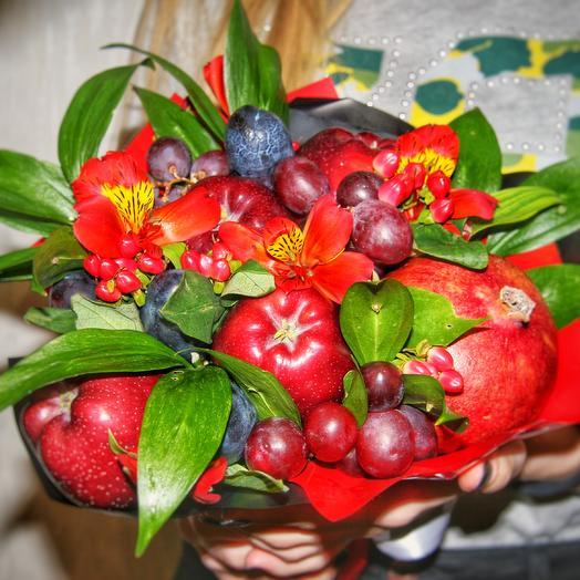 "Букет ""Дерзкий фрукт"": букеты цветов на заказ Flowwow"