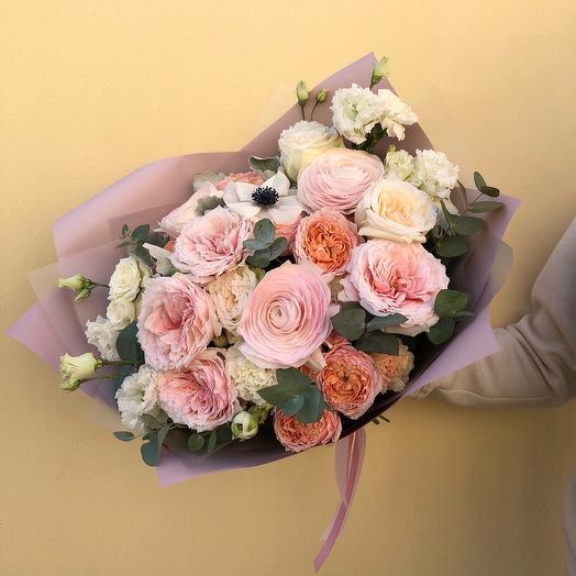 Весенний румянец: букеты цветов на заказ Flowwow