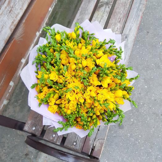 Солнечный бум: букеты цветов на заказ Flowwow