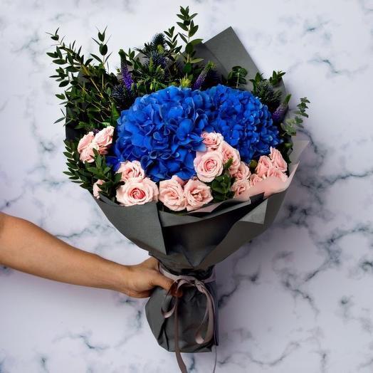 Морская пучина: букеты цветов на заказ Flowwow
