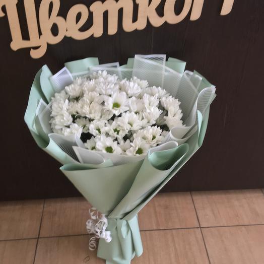Большой букет ромашек: букеты цветов на заказ Flowwow