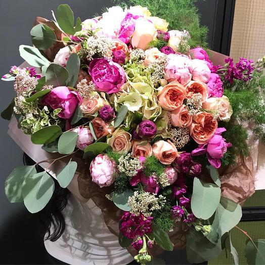 Французкий шик: букеты цветов на заказ Flowwow