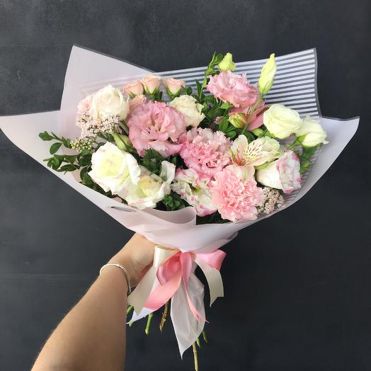 Нежный букет: букеты цветов на заказ Flowwow