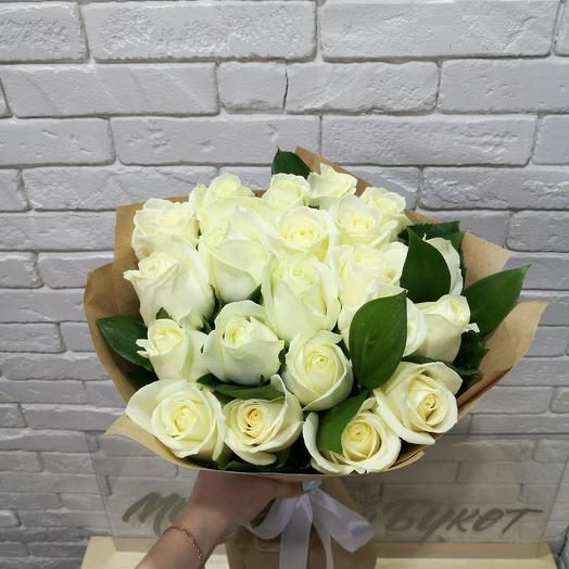 Bouquet of 21 roses: flowers to order Flowwow