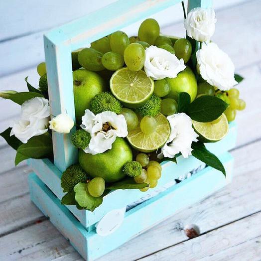 Лаймовый шик: букеты цветов на заказ Flowwow