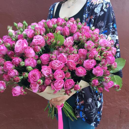 Малиновый закат: букеты цветов на заказ Flowwow