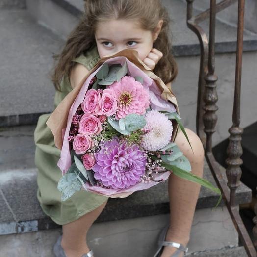 Букет на 1 сентября N15: букеты цветов на заказ Flowwow