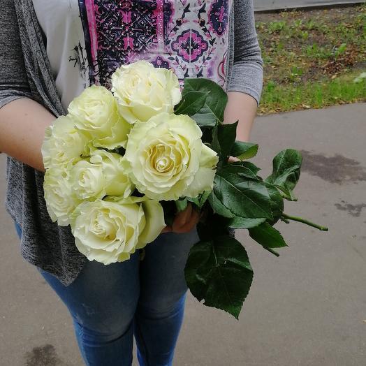 Розы 70 см: букеты цветов на заказ Flowwow