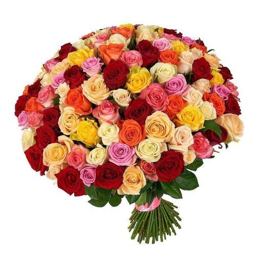101 роза MIX