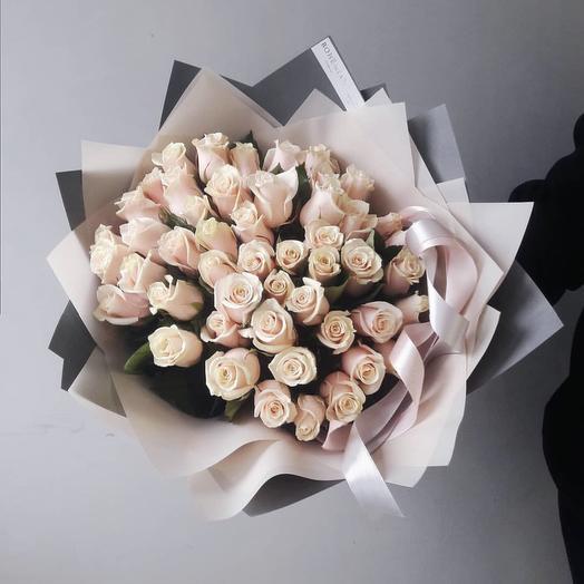 Кремовые тени: букеты цветов на заказ Flowwow