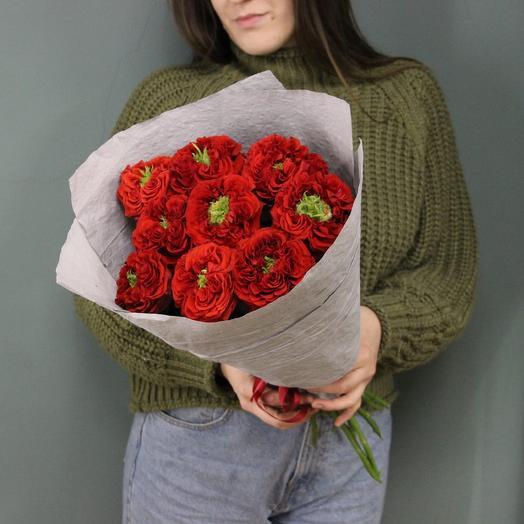 Красный монстр: букеты цветов на заказ Flowwow