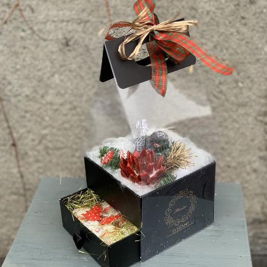 Рождественский сюрприз: букеты цветов на заказ Flowwow