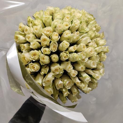 101 дела роза: букеты цветов на заказ Flowwow